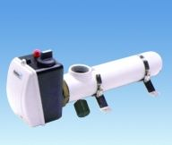 Электрический нагреватель PAHLEN сталь 15 кВт с термостатом и датчиком давления