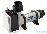 Электрический нагреватель для бассейна PAHLEN пластик 3 кВт с термостатом и датчиком потока 141600