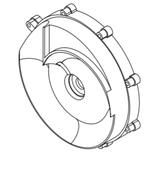 Задняя крышка помпы New BCC HD061040