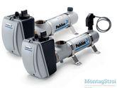Электрический нагреватель для бассейна PAHLEN сталь 3 кВт с термостатом и датчиком потока 13981403