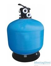 Фильтр для бассейна 5.5 м3/ч Jazzi T-серия д.350мм 040114
