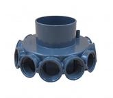 Коллектор (1'') на 12 отводов под трубу D63 C-015