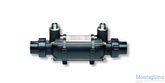 Теплообменник MAXDARPA D-KWT-VA  45 пластик гофр.спираль из нерж.стали 45-46 кВт