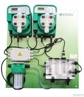 Контроллер pH и свободного хлора PNL EF162pH/EF163Cl с э/м насосами 10 л/ч для бассейнов до 800м3 M370121003939