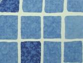 Плёнка SUPRA 160 Mosaic blue 25х1,65 м 2000749