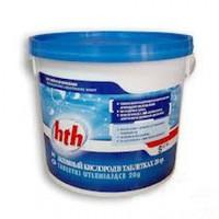 HTH Многофункциональные таблетки стабилизированного хлора 5 в 1, 200 гр. 1,2кг K801751H9