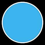 Elbe SUPRA SBG 150 Adriatic blue 25x1.65 2000410
